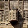 Mashrabiya screen over a window in Coptic Cairo, detail